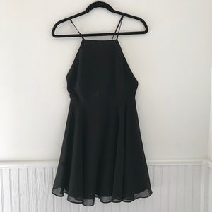 Black Backless Urban Outfitters Dress